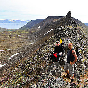 Hiking in the West of Iceland