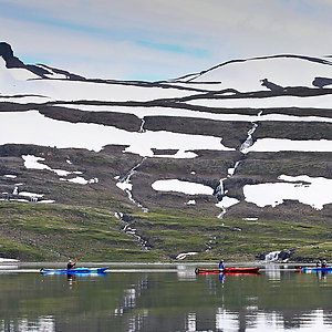 Sea Kayak trip in Westfjords Iceland