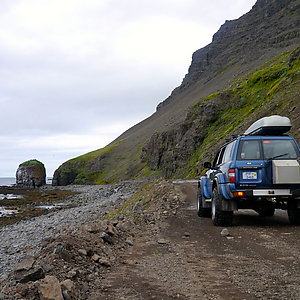 Westfjord's super jeep tour