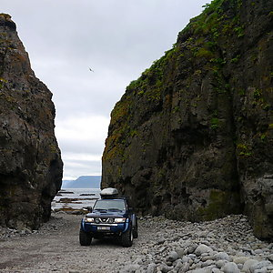 Jeep Tour in Westfjord Iceland