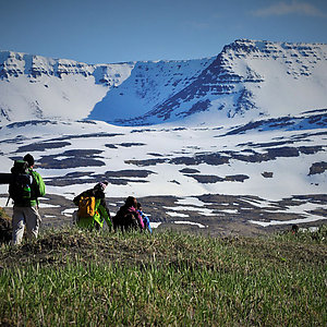 Glacier and Mountain hiking in Iceland