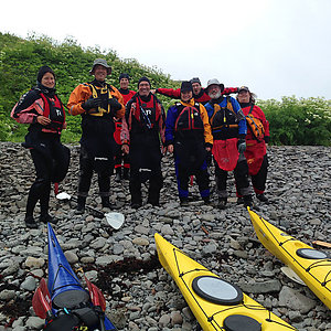 Multi day kayaking tour in Iceland