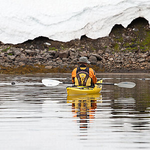 Glacier Kayaking in Westfjords Iceland