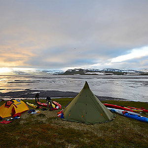 Camping in Westfjords in Iceland Private Tour