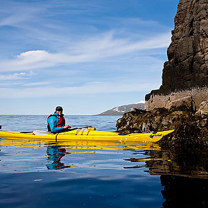 Tour with kayaking in Iceland