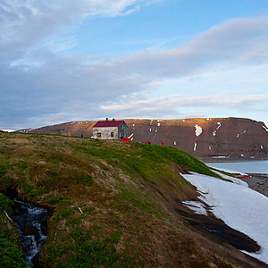 Private Cottage in Westfjords Iceland