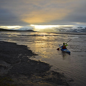 Fjords kayaking Iceland