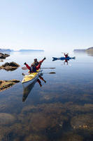 This is what we call calm water kayaking in Iceland!