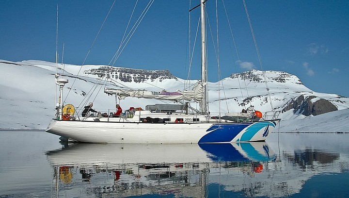 Sailing boat trip in Westfjords Iceland