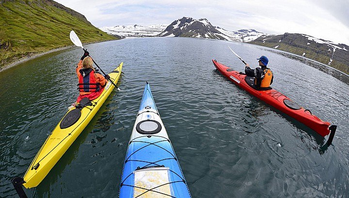 Kayaking Trip in Westfjord Iceland